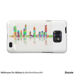 Melbourne Vic Skyline Galaxy S2 Cover