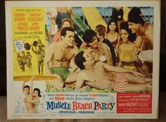 Lobby Card   Muscle Beach Party   Frankie by MoviePostersAndMore