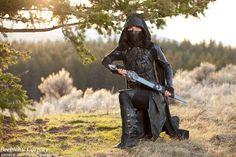Nightingale Cosplay: Skyrim - Elderscrolls V Armor Version Ninja Warrior, Warrior Girl, Fantasy Warrior, Narnia, Hobbit, Nightingale Armor, Ninja Gaiden, Bucky And Steve, Medieval Costume
