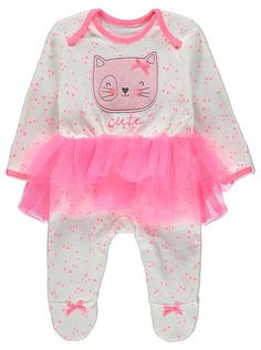 Neon Tutu Cat All in One, read reviews and buy online at George at ASDA. Shop from our latest range in Baby. We're not kidding about when we say this cotton-...