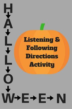 Following Directions, Listening and Close Reading Halloween Activity - Perfect to keep your students engaged and busy during the days before Halloween. For grades third, fourth, fifth, sixth, seventh, eighth and even high school. Perfect for home school and Halloween parties. Listening Activities, Active Listening, Listening Skills, Classroom Activities, Listening And Following Directions, Middle School, High School, Creative Thinking Skills, Be My Teacher