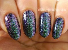 Penny Pinching Polish: Dark Metal Lacquer - Turn Loose the Mermaids (EP dupe alert!)