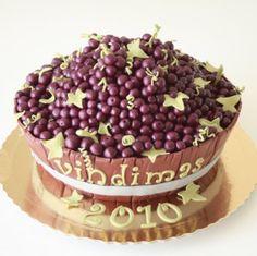 Vindimas | Recortado | Homem | Grãos de Açúcar - Bolos decorados - Cake Design