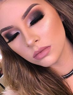 maquiagem de festa, makeup