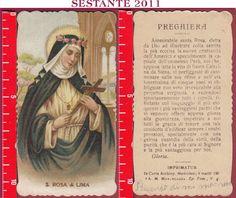 3048 SANTINO HOLY CARD S. SANTA ROSA DI LIMA MEDIOLANI