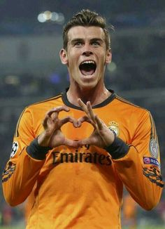 The Eleven of Hearts, Gareth Bale's celebration.