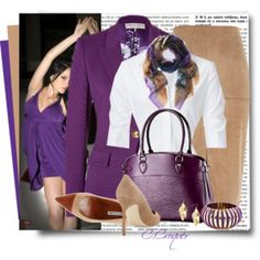 Purple Outfit