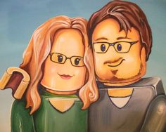 Immortalize yourself in LEGO form with these personalized LEGO portraits. If you've ever wondered what you'd look like in LEGO form, now is your chance to make...