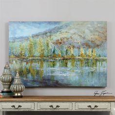 Uttermost Autumn Reflection Landscape Art