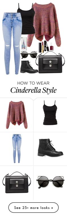 """why would it not"" by randomjenni on Polyvore featuring French Connection, Avenue, Balenciaga, Disney, Chanel and Essie"