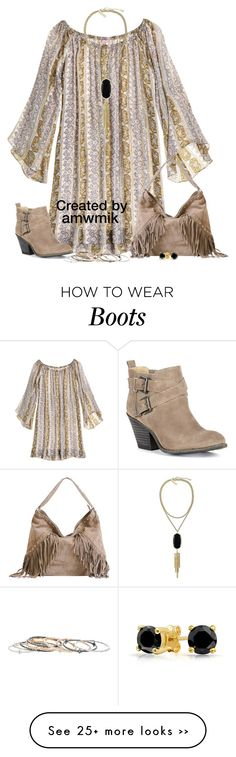 """Boho with Booties"" by amwmik on Polyvore"