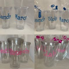 Items similar to Personalized Name Tumbler with straw Bridal Party Kids Party Favors Birthdays baby shower Bar Mitzvah Sweet Communions, Christenings on Etsy Baby Shower Prizes, Fun Baby Shower Games, Baby Shower Party Favors, Baby Shower Cards, Baby Shower Invitations, Bridal Shower, Kids Tumbler, Party Favors For Kids Birthday, Personalized Party Favors