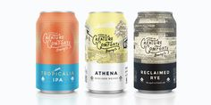 Beer Can Packaging Design Curated by Little Buddha Beverage Packaging, Bottle Packaging, Coffee Packaging, Craft Bier, Craft Beer Labels, Wine Labels, Beer Label Design, Little Buddha, Beer Brands