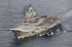 """Erstmals kommt auch der russische Flugzeugträger """"Admiral Kusnezow"""" zum..."""