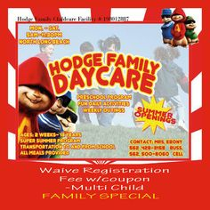 My Daycare Flyer | Pins I Made | Pinterest | Flyers and Daycares