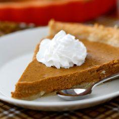 Amerikkalainen kurpitsapiirakka (Libby's Pumpkin Pie) Libbys Pumpkin Pie, Libby's Pumpkin, Sweet Pie, Birthdays, Favorite Recipes, Sweets, Homemade, Baking, Desserts