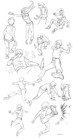 sketchdump 102912 by lychi on deviantART