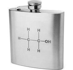 alcohol+molecule | Ethanol Molecule Flask