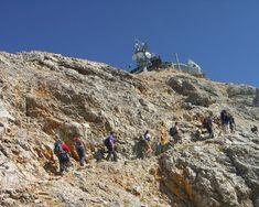 Zugspitze | Garmisch:Zugspitze vom Eibsee aus