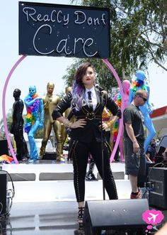 """Demi Lovato's Out Of Control """"Really Don't Care"""" Music Video Preview"""
