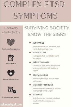 Ptsd Awareness, Mental Health Awareness, Personalidad Enfp, Ptsd Recovery, Ptsd Symptoms, Trauma Therapy, Therapy Worksheets, Complex Ptsd, Dissociation