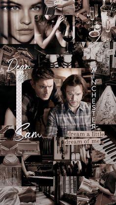 Supernatural Background, Supernatural Wallpaper, Supernatural Fans, Sam And Dean Winchester, Winchester Brothers, Sam E, Vampire Diaries The Originals, Dove Cameron, Super Natural