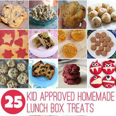 Save time with these 25 bake and freeze lunch box recipe ideas for kids.