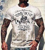 .Yakuza Ink t-paita Calm Down White UUTUUS!