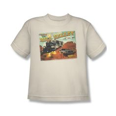 Back To The Future Iii Sci-Fi Movie Hill Valley Postcard Youth T-Shirt Tee @ niftywarehouse.com #NiftyWarehouse #Geek #Gifts #Collectibles #Entertainment #Merch