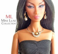 Doll Jewelry Mini Luxe Collection Fashion Royalty, Barbie, Poppy Parker | eBay
