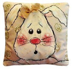 Decoraciones de Pascua conejo de Pascua Bunny por SippingIcedTea