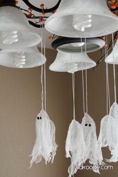 Halloween Decor - Hanging Ghosts