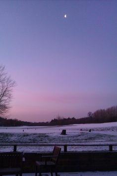 A very frosty morning.
