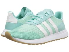 241531d027f adidas Originals FLB Runner Women s Shoes Energy Aqua F17 Footwear White Gum  4 Guarda