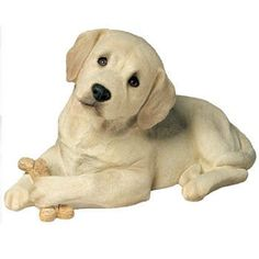 $148.00-$171.29 Sandicast® Life Size Labrador Retriever Pup Statue, YELLOW - Sandicast Life Size Labrador Retriever Pup Statue The most popular pooch in the world! This gentle, fun-loving pup is as warm and friendly as they come! This Statue was created by internationally renowned artist Sandra Brue, and is a spot-on depiction of the real thing! Handcast in Marble-in, a mixture of marble dust an ...