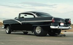 pro-street '56  ford pics | 56 FORD PRO-STREET | My friends have always had the Hot Rod Blues.