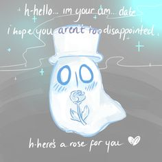 Napstablook by childpom.deviantart.com on @DeviantArt