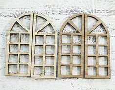 These windows are good embellishment on cards, scrapbook layouts, alter boxes!!You will receive 4 piecesP.S.  I have two colors of wood as shown in the picture you may received either one of those color or both that depend on what I have in hand when you place an order.I ship within 48 hours after I receipt your payment.Please also note that postage time can be variable and the above is just for guidance. Parcel will be sent using regular post service.