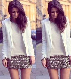 blazer com saia