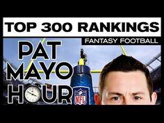 Updated 2016 Fantasy Football Rankings | 2016 Fantasy Football Draft Strategy |