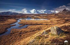 Loch Ba & Black Mount, Rannoch Moor, Highlands of Scotland.