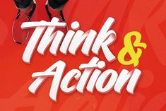 Think Action font by Hustletter on @creativemarket