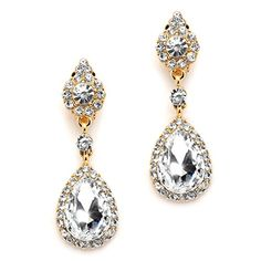Mariell Clip-On Earrings with Crystal Teardrop Dangles - 14K Gold Plated - Ideal for Proms and Weddings Mariell http://www.amazon.com/dp/B01DL2GP70/ref=cm_sw_r_pi_dp_ESecxb0X24S6W