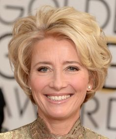 short and wavy hairstyles for older women #hairstyle