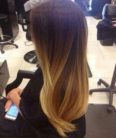 Shatush hair
