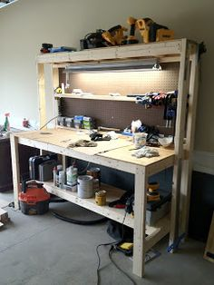 Ginger & The Huth- DIY Workbench step by step