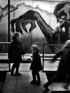 Christer Strömholm - Fair of Pigalle, Paris, 1955 #photography #kids
