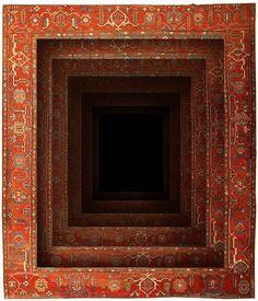 Fun with rugs, by Azerbaijani artist Faig Ahmed