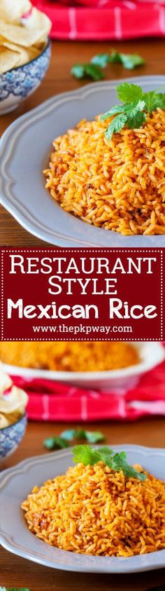 Authentic Restaurant-Style Mexican Rice ready in 7 minutes!