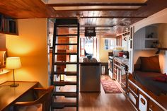 Image result for tugboat liveaboard classic interior